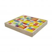 Artiwood Wooden Block Tray 74 Piece
