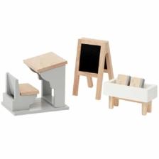Astrup Dolls House School Furniture