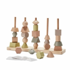 Astrup Wooden Stacking Tower Set