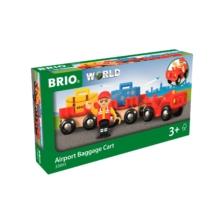 BRIO Airport Baggage Cart 8 Pieces