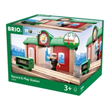 BRIO Destination - Record and Play Station