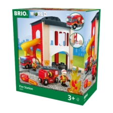 BRIO Fire Station 12 pieces