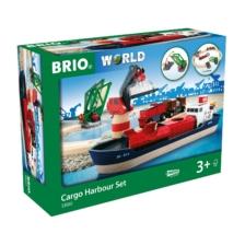 BRIO Set - Cargo Harbour Set