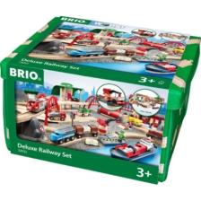BRIO Set - Deluxe Railway Set