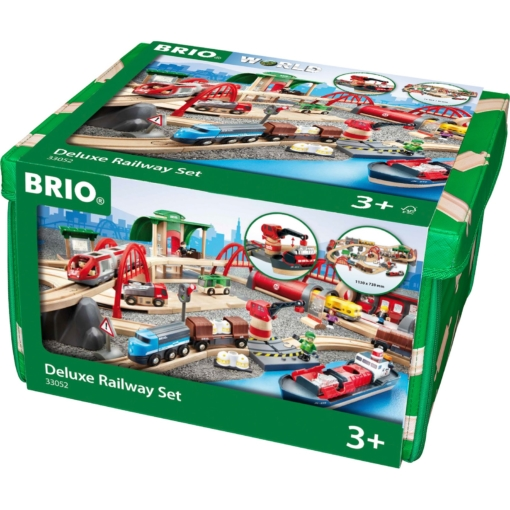 BRIO Set - Deluxe Railway Set