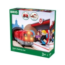 BRIO Set - Metro Railway Set