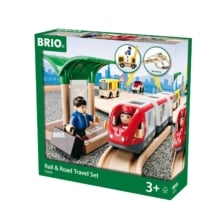 BRIO Set - Rail & Road Travel Set