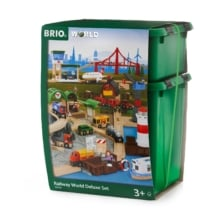 BRIO Set Railway World Deluxe Set 106 pieces