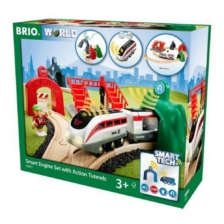 BRIO Smart Tech Smart Engine Set with Action Tunnels