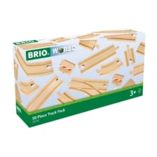 BRIO Tracks - 50 Piece Track Pack