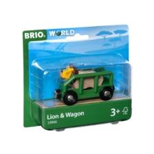 BRIO Vehicle - Safari Lion and Wagon
