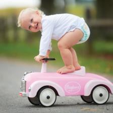 Baghera Speedster Pink Ride On