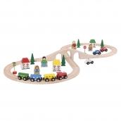 Bigjigs Figure of Eight Train Set 40 Pieces