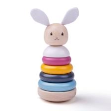 Bigjigs Toys FSC Rabbit Stacking Rings