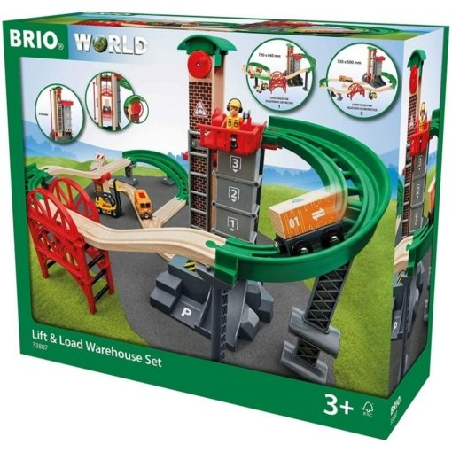 Brio Lift and Load Warehouse Set 32 Pieces