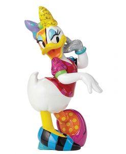 Britto Disney Daisy Duck Large Figurine