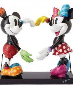 Britto Disney Mickey and Minnie Large Figurine