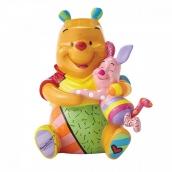 Britto Disney Pooh and Piglet Medium Figurine