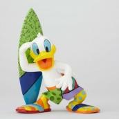 Britto Disney Surfer Donald Duck Figurine Large