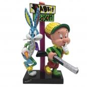 Britto Looney Tunes  Elmer Fudd And Buggs Bunny Figurine Large