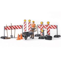 Bruder Bworld Construction Figure Set