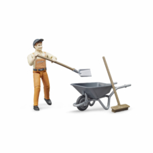 Bruder Bworld Figure Set Municipal Worker