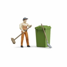 Bruder Bworld Figure Set Waste Disposal