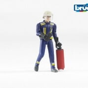 Bruder Bworld Fireman with Accessories