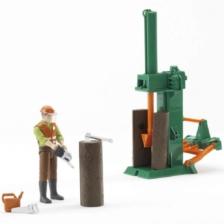 Bruder Bworld Forestry Figure Set