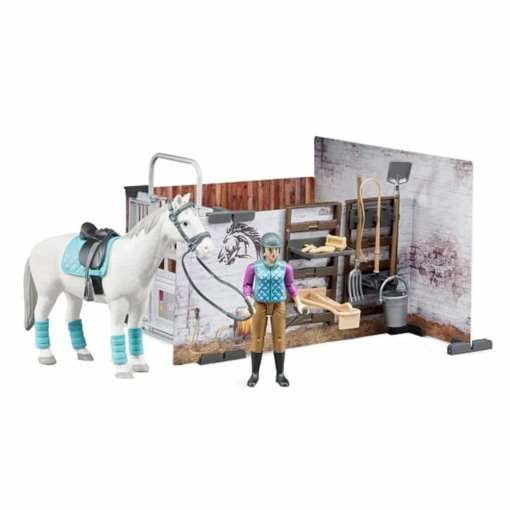 Bruder Bworld Horse Barn Set