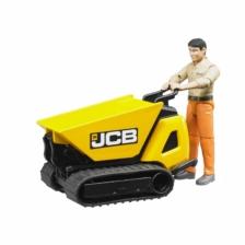 Bruder Bworld JCB Dumpster HTD5 and Worker