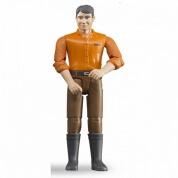 Bruder Bworld Man in Brown Jeans