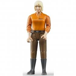 Bruder Bworld Woman Light Skin Brown Jeans