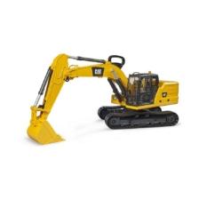 Bruder Caterpillar Excavator with Black Tracks