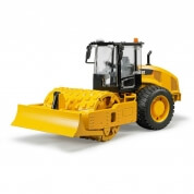 Bruder Caterpillar Vibrating Soil Compactor with Levelling Blade