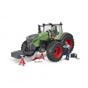 Bruder Fendt 1050 Vario with Mechanic and Garage Equipment