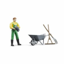 Bruder Figure Set Farmer with Accessories