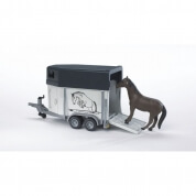 Bruder Horse Trailer And Horse