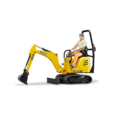 Bruder JCB Micro Excavator CTS and Worker