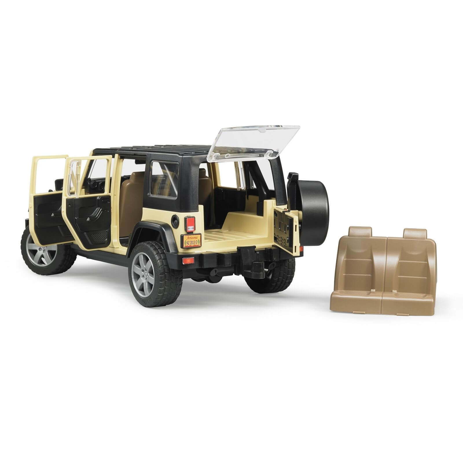 Wrangler Rubicon 4 Door >> Bruder Jeep Wrangler Unlimited Rubicon - Jadrem Toys