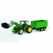 Bruder John Deere 7930 Tractor Front loader and Trailer