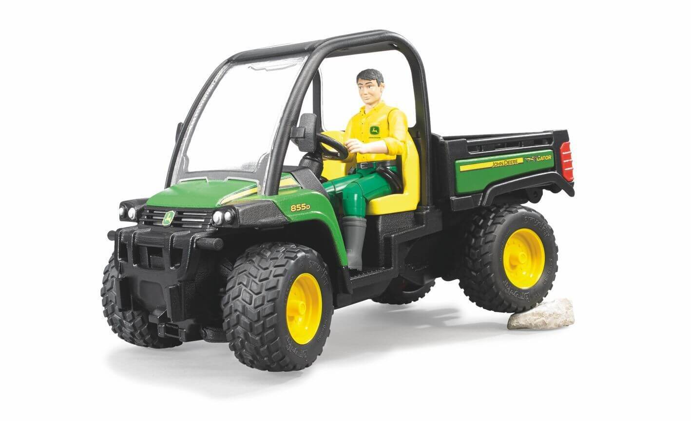 bruder john deere gator xuv 855d with driver jadrem toys. Black Bedroom Furniture Sets. Home Design Ideas