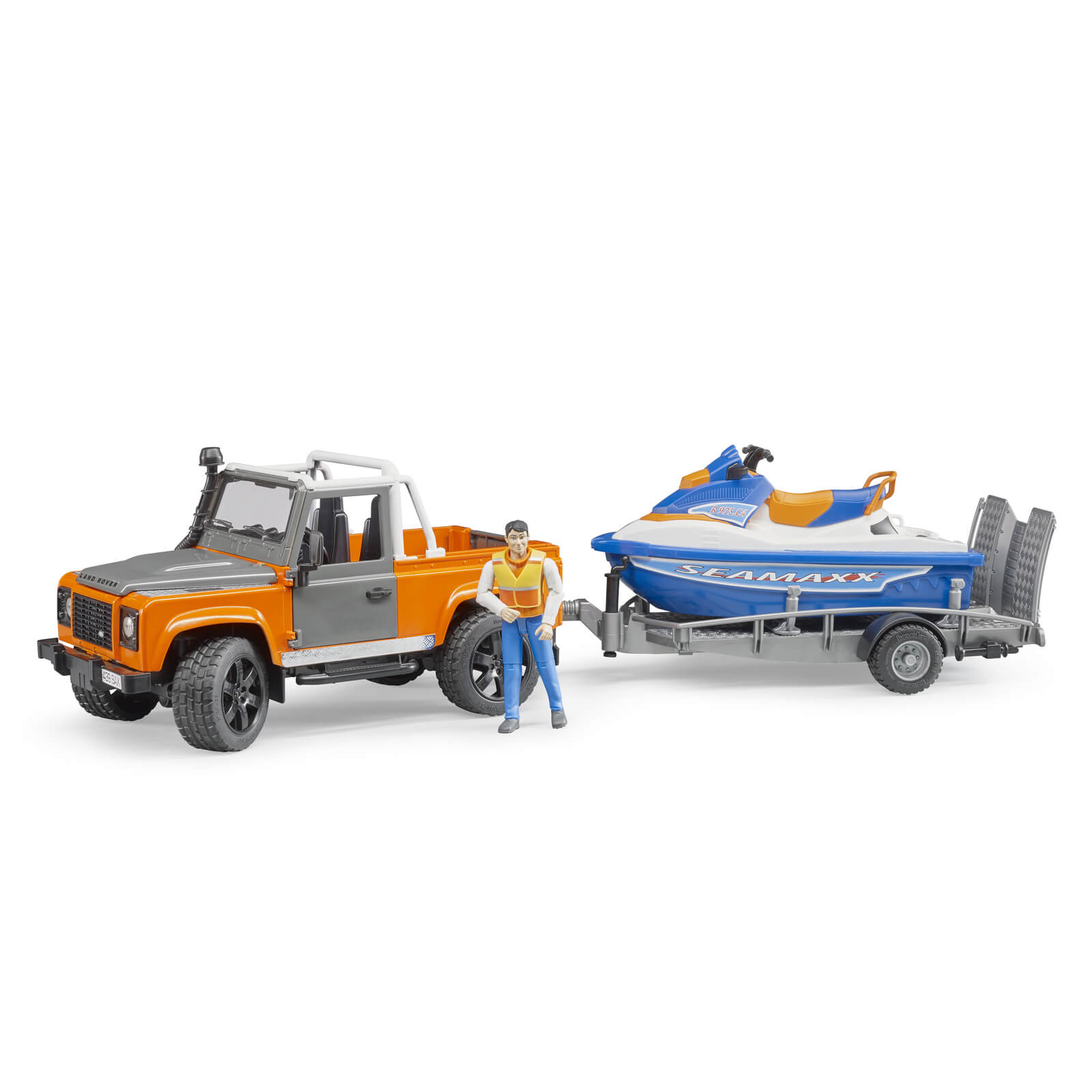 Bruder Personal Water Craft with Driver Vehicles-Toys Baby