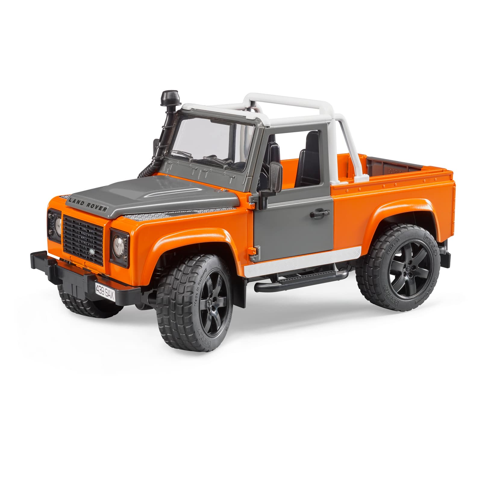 bruder land rover defender pick up jadrem toys