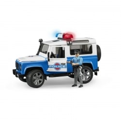 Bruder Land Rover Defender Police With Accessories