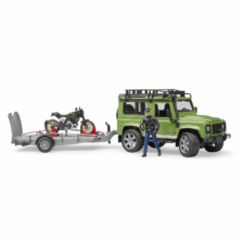 Bruder Land Rover Defender Wagon