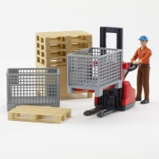 Bruder Logistics Figure Set