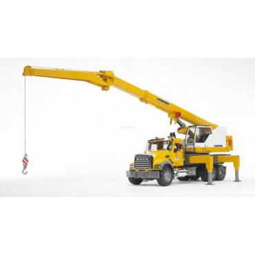 Bruder MACK Granite Liebherr Crane Truck 02818