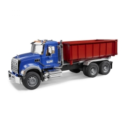 Bruder MACK Granite Roll Off Container Truck