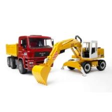 Bruder MAN TGA Construction Truck Excavator